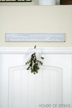 Wood Christmas signs