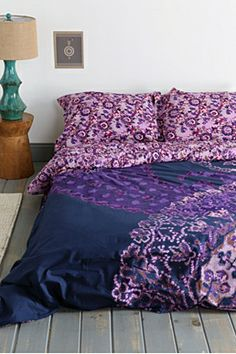 Magical Thinking Fire Paisley Duvet Cover