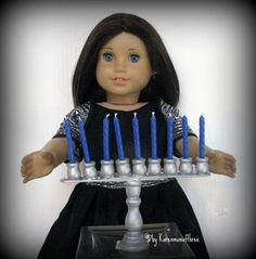 Make a doll sized Menorah for Rebecca