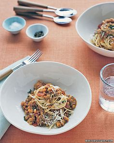 Lentil-Tomato Sauce - Whole Living Eat Well