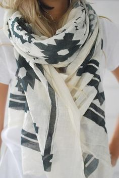 light scarf for fall...perfection!