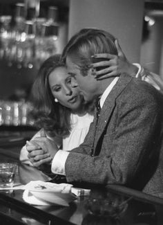 Barbara Streisand and Robert Redford in The Way We Were (1973).