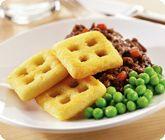 Mini potato waffles... just like trapdoors :)