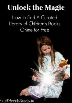 How to get children's books online for free through Bookboard.