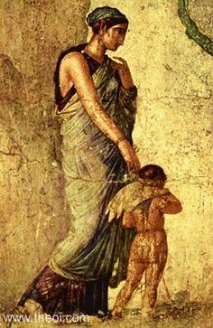 1st Century AD w/son Eros or Cupid.