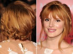 Bella Thorne's Boho Halo Braid