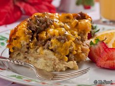 When Christmas morning comes, the last thing we can think about is having to slave over the stuff for pancakes or omelets. That's why breakfast casseroles have become a tradition for all of us in the Mr. Food family this time of year. You can prepare these 15 breakfast casseroles the night before, and then simply pop 'em in the oven come Christmas morning!
