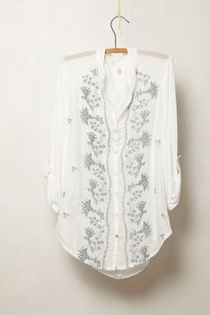 Sovana Buttondown - Anthropologie.com