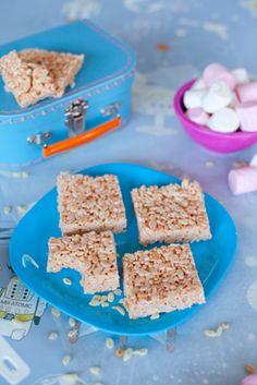 Rice Krispy Treats. Easy recipe for kids. # recipe #kids