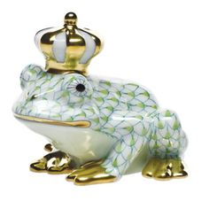 I love him.  Herend Frog Prince