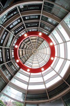 The National Art Center (architect by Kisho Kurokawa), Tokyo, Japan