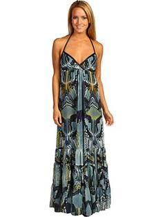 #summerdress #maxidress Chic bohemian maxi. Take center-stage in this bold bohemian stylish maxi dress.