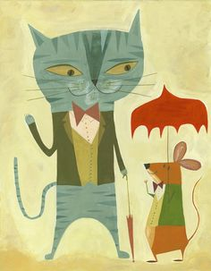 Cat  Mouse - Matte Stephens.