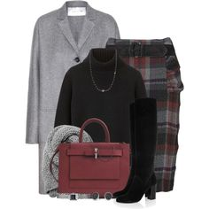 A fashion look from October 2014 featuring Proenza Schouler sweaters, Valentino coats and Phase Eight skirts. Browse and shop related looks.