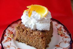 Orange Carrot Cake—simple with just 9 ingredients!
