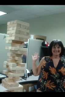 The office never looked so much fun :) www.tumblingtowers.com