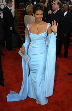 Halle Berry at the Golden Globes 2003