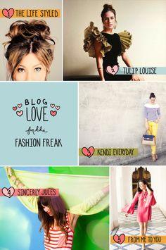 Blog Love -- Fashion Freak  |  the fresh exchange