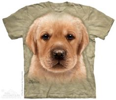 Yellow Lab Puppy T-Shirt at theBIGzoo.com, a family-owned store. Check our sales & FREE Shipping.