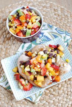 Summer Salsa #healthy #food