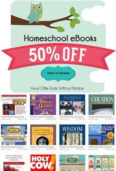 50% Off Messianic & Homeschool eBooks