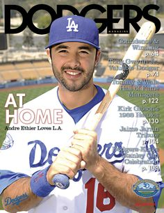 Dodgers Magazine featuring Andre Ethier
