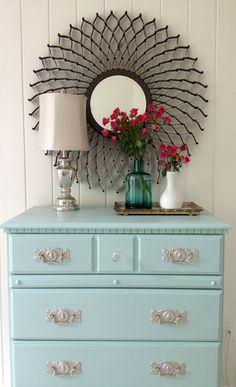 mirror, modern furniture, paint furniture, paint lamin, furniture arrangement, antique furniture, color, painted dressers, bedroom