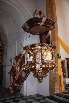 Parish church Saint Niklaus - pulpit Locality:Straßburg, Austria