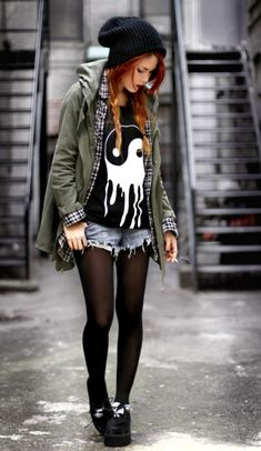 street fashion, cloth, style, shirts, soft grunge, outfit, rock, closet, hair