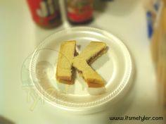 Alphabet PB Sandwiches