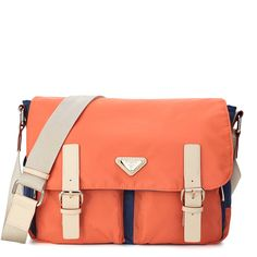 Orange Young Girl Street Style Bag