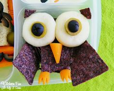 Kitchen Fun With My 3 Sons: Halloween Bento Lunch with Lindsay Olives