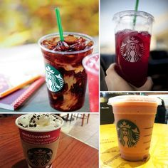 Here are a few awesome drinks shared with us by a Starbucks barista who wishes to stay anonymous.  Note: Prices are for tall-sized drinks. Prices and selection may differ in different geographic locations.
