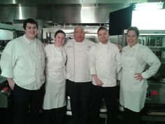 Chef Jim on the set of a 2013 TV commercial shoot. meet chef, tv commerci, chef jim, commerci shoot