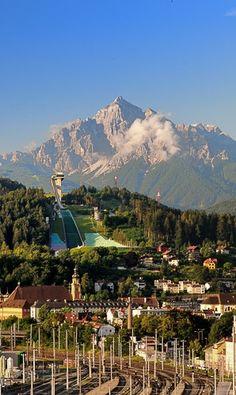What a view... Innsbruck, Austria #austria #tirol #innsbruck #mountains #view #visitaustria