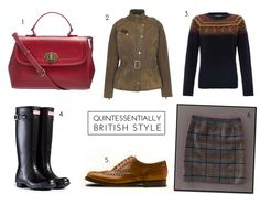 British Style: Barbour, Hunter and Cath Kidston. The epitomy of British country style with inspiration and shopping ideas.