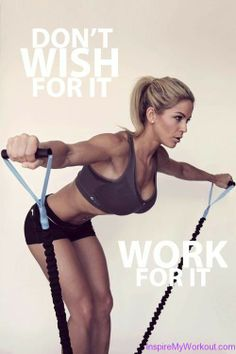 """""""Work For It"""" Motivational #Fitness #Quote"""