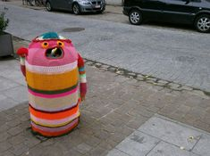 30 Colorful Examples of Yarn Bombing | Bored Panda