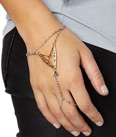 Geo Arrow Hand Chain