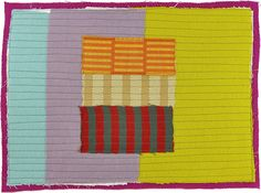 daily small art quilt #96 // karen anne glick