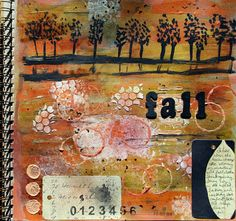 A Year in the Life of an Art Journal: Whatever and Whatnot Oct. 15th 2012