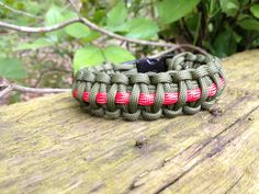 The Special Forces Survival Apparatus.  This is a part of our Hero's Collection and with this one, not only can you show your support for our Special Forces, but you also have a fully functioning Survival Apparatus.  For more information please check out our site at http://www.paracord-survival    or check us out on facebook at  http://www.facebook.com/ParacordSurvival