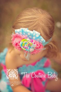 Sweet Candyshop Headband from The Couture Baby