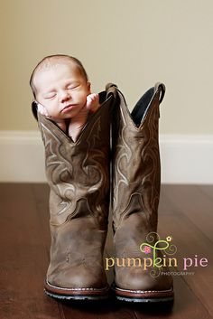 Baby in a Boot