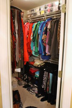the gold project closet organization