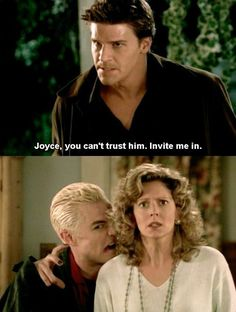 Always being wary of people who insist on being invited in. | 15 Problems Only People From Sunnydale Understand