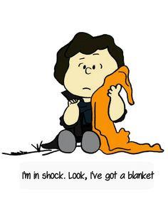 sherlock fan art | Tumblr That's cute!  Love both characters.  Nice mash-up.