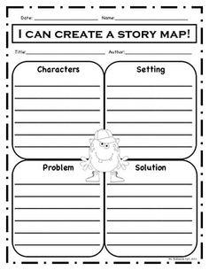 Grade  Schools Ideas  Graphic Organizers  Reading Writting  Graphics    Story Elements Graphic Organizer 4th Grade