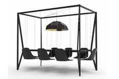 Swing Set Table Transforms Dinner Into Play Time