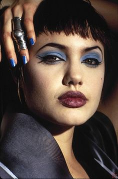 Angelina Jolie.. http://www.buzzfeed.com/whitneyjefferson/41-regrettably-tacky-photos-of-famous-people